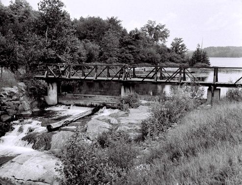 Old Hatchery Dam circa 1960